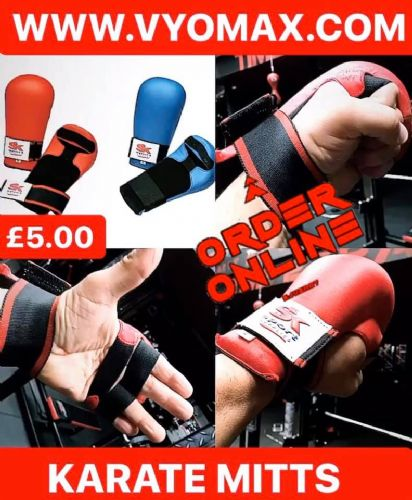 Karate Mitts (One Size)